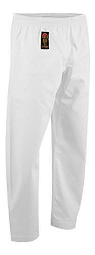 ProForce Gladiator 8oz Combat Karate Pants - White - Size 4