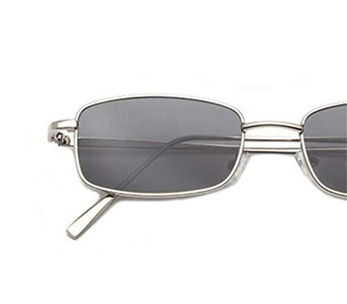 en protection cadre Silver FlowerKui plein métal de air lunettes UV400 la en conduite de pour Lunettes Mode lunettes Unisexe soleil wB0xPqrf0X