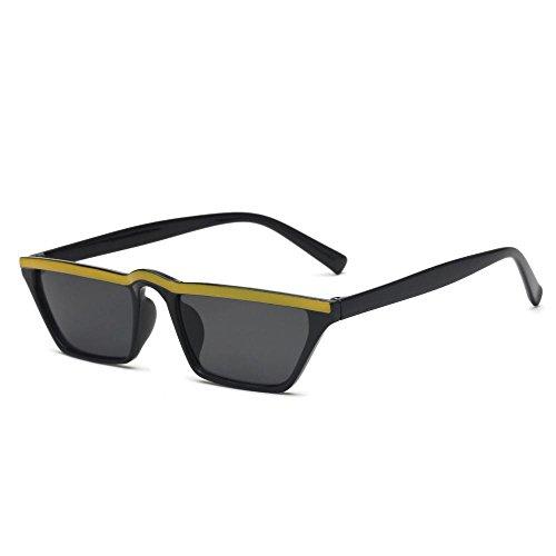 pequeño de cejas de gafas Retro de Aoligei Estados marco Unidos sol los gafas ojo sol las gafas Europa de de hombres gato A y de q6wxtBR