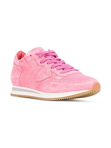 Camoscio Sneakers Di Donne Rosa In Trldnd04 Modello Philippe vw54fqvr