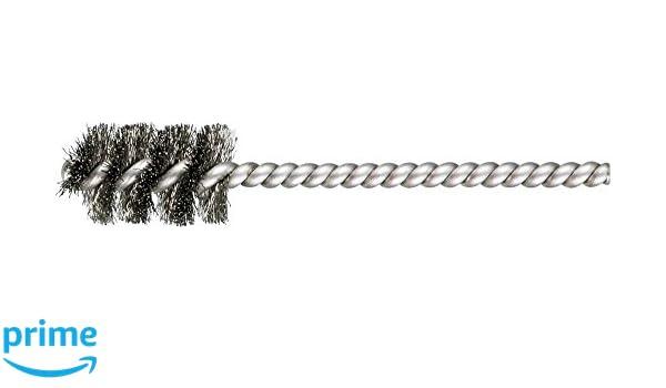 PFERD 83395 SpyraKleen Tube Brush INOX Single Stem//Spiral.005 Stainless Steel Wire 1 Brush Part Length Pack of 36 5//8 Diameter 5//32 Stem