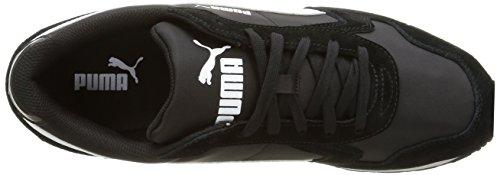 Puma St Runner NL, Sneakers Basses Mixte Adulte Noir (Black/White 07)