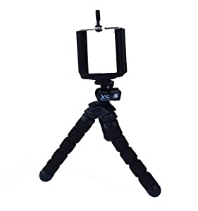 XSories Mini Bendy - Compact Flexible Camera Tripod with Adjustable Ball Head, Fits All Digital Cameras