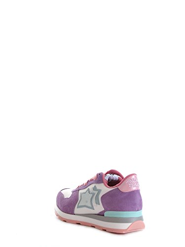 Atlantic Stars Women's Shoes 'Vega' Suede & Technical Fabric Sneakers Multicolor 5lVK4