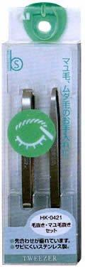 BeSelection Tweezer Eyebrow Set HK 0421 product image