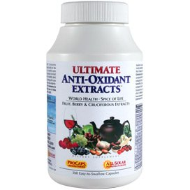 Ultimate Antioxidant 60 Capsules (Ultimate Anti-Oxidant Extracts 60 Capsules)