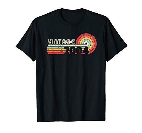 2004 Vintage T Shirt, Birthday Gift Tee. Retro Style Shirt.