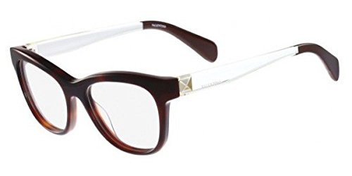 Valentino Metal Sunglasses (VALENTINO Eyeglasses V2691 214 Havana 52MM)