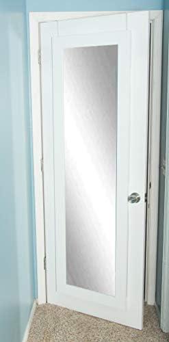 BrandtWorks BM3THINH Modern Over The Door Full Length Dressing Mirror