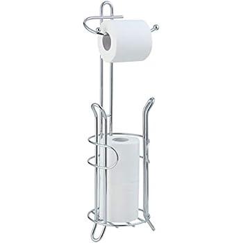 Amazon.com: InterDesign Bruschia Free Standing Toilet Paper ...