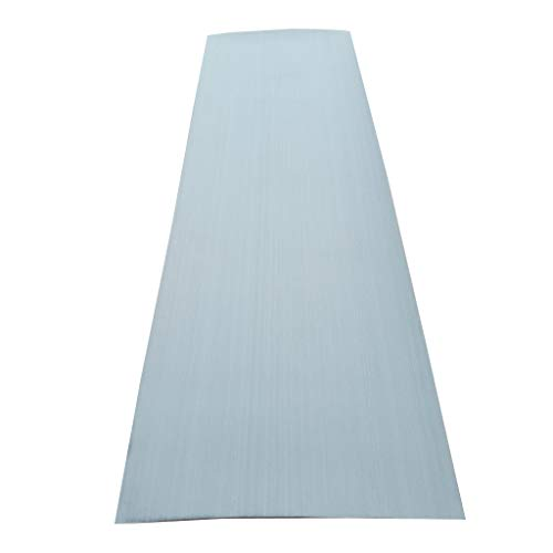 DYNWAVE Versatile EVA Self-Adhesive Faux Teak Sheet Traction Non-Slip Grip Mat for Boat Decks, Marine Yacht Flooring, Vehicle Car, Kayak or Surfboard - Gray