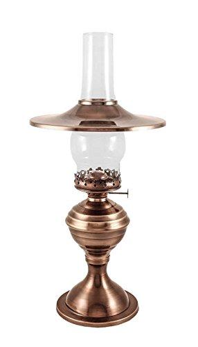 brass kerosene lamp - 7
