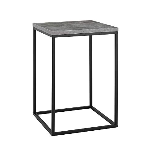 WE Furniture AZF16LWSTDC Side Table, 16