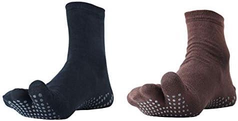 NOFALL Men's Ankle Length Cotton & Lycra Socks (Pack of 2)