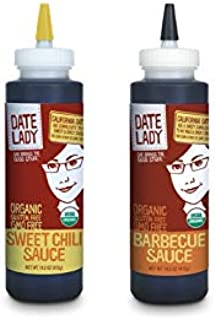 product image for Savory Sauce Pack | BBQ Sauce and Sweet Chili Sauce | Gluten Free | Paleo Friendly | No Corn Syrup or Cane Sugar | No Added Flavors or MSG