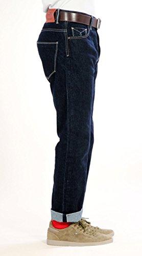 D'LOOP 79 Raw Comfort (Straight) - Vintage Denim Goods - Japanische Indigo Selvedge - Premium Quality Herren Jeans - Made in Germany