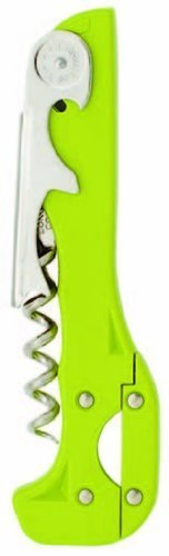 Boomerang Two-Step Corkscrew (Light Green) (Retractable Foil Cutter Corkscrew)