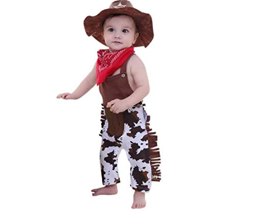 3 Piece Cowboy Costume from Chunks of Charm (9 Months) ()