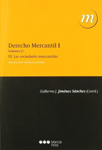 DERECHO MERCANTIL I - VOL 2 (14.º EDIC)