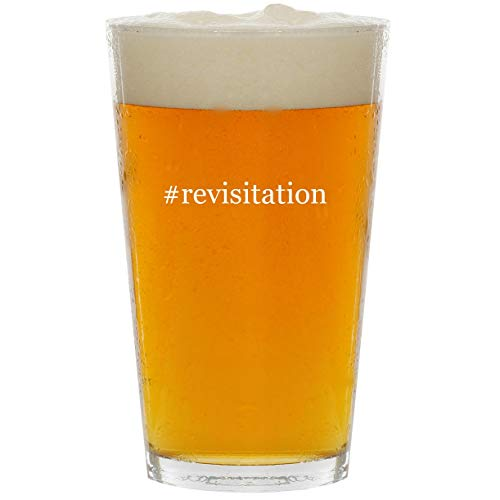 Price comparison product image #revisitation - Glass Hashtag 16oz Beer Pint