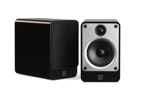 speakers under 20. q acoustics concept 20 bookshelf speakers (pair) (gloss black) under p