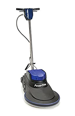 "Powr-Flite NM2000 Millennium Edition Electric Burnisher with Power Cord, 2000 rpm, 20"", 49"" Height, 19"" Length"