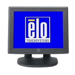 Elo 1000 Series 1215L Touch Screen Monitor - 12 - Surface Acoustic Wave - Dark Gray - E991639