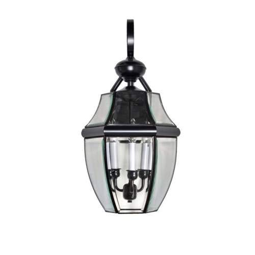 Maxim Lighting South Park Burnished 3-Light Outdoor Wall-Mounted Lantern 4192CLBU