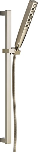 Delta Faucet 51140-SS Zura Multi-Function Hand Shower with Wall Bar, Stainless high-quality