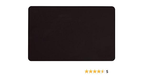 100 unidades tama/ño de tarjeta de cr/édito y 760 micras de grosor PerfectID Tarjetas de identificaci/ón CR80 de pl/ástico PVC de calidad ISO con banda magn/ética Hi-Co de 86 x 54 mm color amarillo