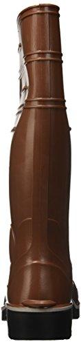 Nora Winner - Botas de goma para mujer marrón