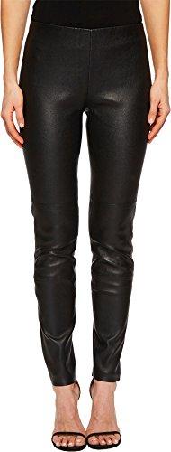 Escada Sport Women's Lalegia Lamb Leather Pants Black 42 - Escada Leather