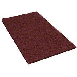 Americo, 42071420, Cleaning Supplies, Floor Pads, 14X20 Home Run Ecoprep Maroon Pads(10), CS