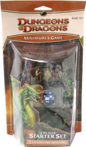 dungeons & dragons miniatures game starter pack