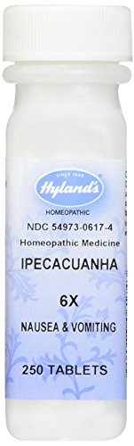 Hylands Ipecacuanha Tablets Homeopathic Vomiting