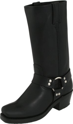 Boot Women's Black Harness 12R Frye Utv7w