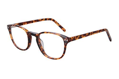 SHINU Mens/Womens Transition Prescription Lens Myopia Glasses and Reading-SH081(demi, anti-blue change brown without - Sunglasses Astigmatism