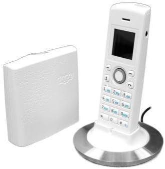RTX DUALphone 4088 - Teléfono inalámbrico para línea fija y Skype, color blanco: Amazon.es: Electrónica