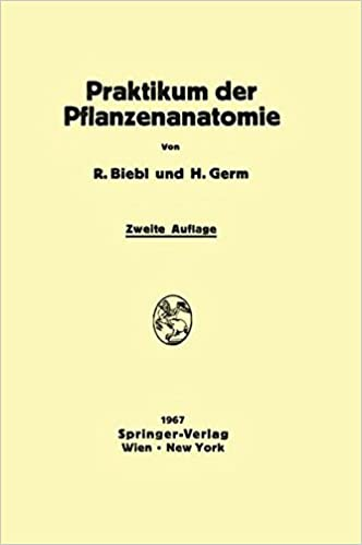 Praktikum der Pflanzenanatomie (German Edition): 9783709181614 ...