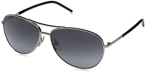 Marc Jacobs Marc59s Aviator Sunglasses, Palladium Black/Gray Gradient, 59 mm