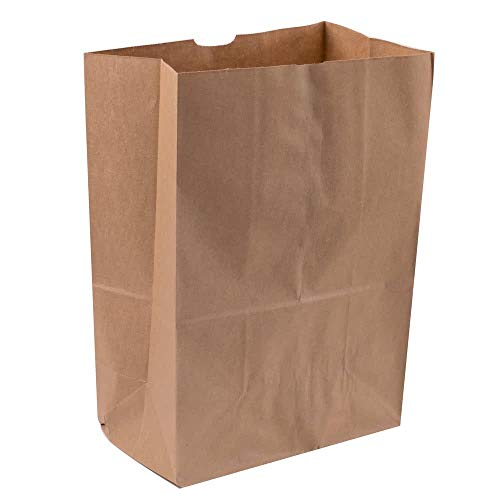 - Royal 7 Heavy Duty 12 x 7 x 17 Kraft Brown Paper Barrel Sack Bag 57 Lbs Basis Weight (100)