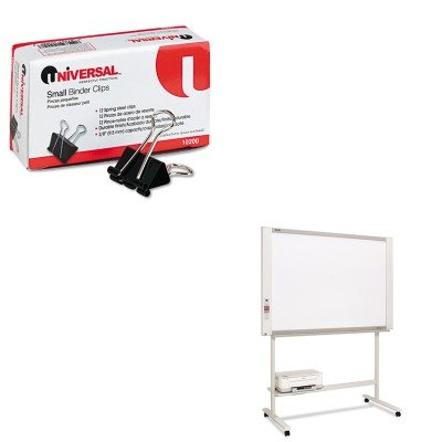KITPLSM18SUNV10200 - Value Kit - PLUS M-18S Electronic Copyboard (PLSM18S) and Universal Small Binder Clips (UNV10200)