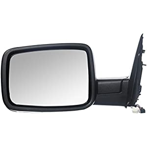 OE Replacement Dodge Pickup Driver Side Mirror Outside Rear View (Partslink Number CH1320304)