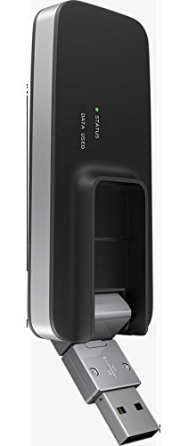 Verizon MiFi USB730L U730L 4G LTE Global USB Modem Black,Verizon (Newest Edition)