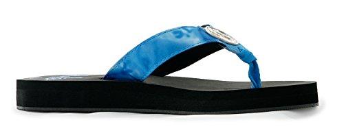 Aqua Ontwerp Vrouwen Marina Flip Flop Sandaal Koninklijke Rimpel