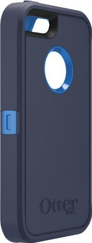 OtterBox [Defender Series] Apple iPhone 5 & iPhone 5S Case - Bulk Packaging - Belt clip not included. (Navy)