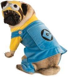 Minion Costume For Dogs (Minion Pet Pet Costume - Small)
