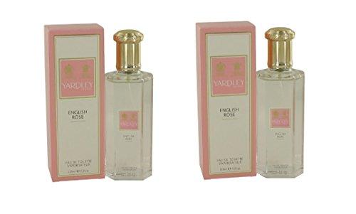 English Rose Eau De Toilette Spray 4.2 oz (Set of 2)