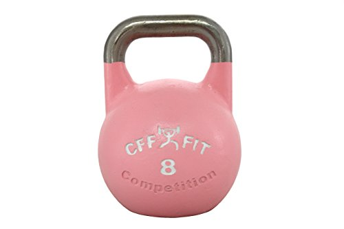 CFF 8 kg Pro Competition Russian Kettlebell (Girya) Great for Cross Training and MMA Training! by CFF FIT