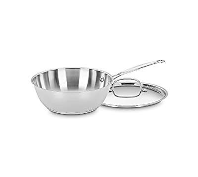 Cuisinart Chef's Classic Stainless Steel 3-qt. Chef Pan